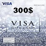 کارت ویزا 300 دلاری