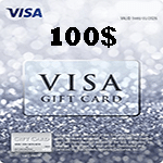 کارت ویزا 100 دلاری