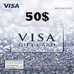 کارت ویزا 50 دلاری