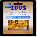 كارت امريكن اكسپرس 100 دلاری