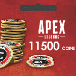 گیفت کارت Apex Legends 11500 Coins