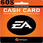 کارت اوريجين 60 دلاری