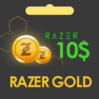کارت 10 دلاری Razer Gold