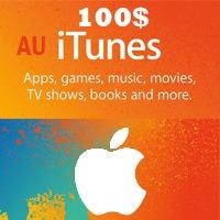 گیفت کارت اپل 100 دلاری استراليا