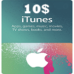 گیفت کارت اپل 10 دلاری كانادا