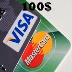 ویزاكارت مجازی 100 دلاری