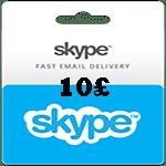 کارت اسکایپ 10 پوندی انگلیس