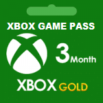 Xbox Game Pass + Gold سه ماهه