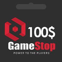 گیفت کارت گیم استاپ 100 دلاری GameStop
