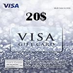 کارت ویزا 20 دلاری