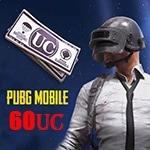 60 یوسی پابجی موبایل