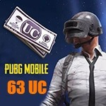 63 یوسی پابجی موبایل