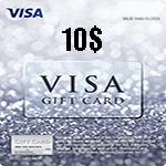 کارت ویزا 10 دلاری