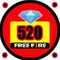 خرید 520 جم و الماس فری فایر